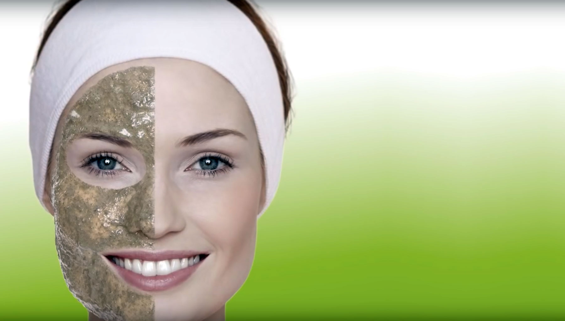 Peeling Kosmetikanwendung